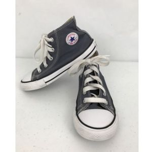 Converse All Star Hi Tops Kids Toddler Blue Gray